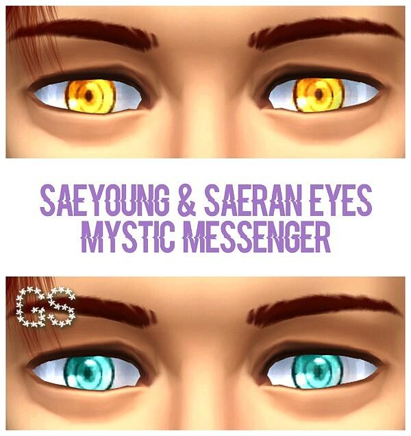 Chois eyes Mystic Messenger sims 4 cc