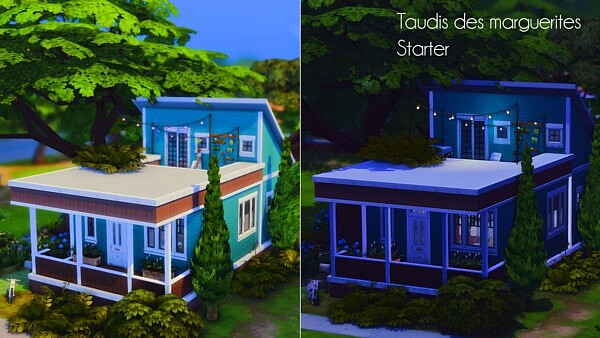 Daisies Slums Renovation sims 4 cc