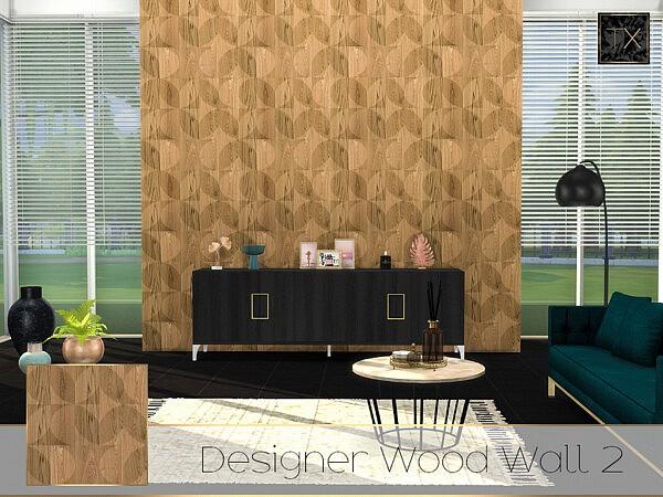 Designer Wood Wall 2