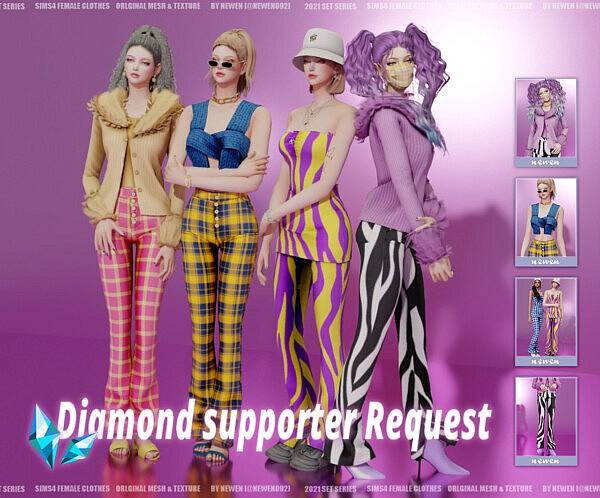 Diamond Collection sims 4 cc2