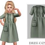 Dress C425