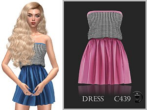 Dress C439