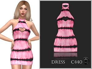 Dress C440