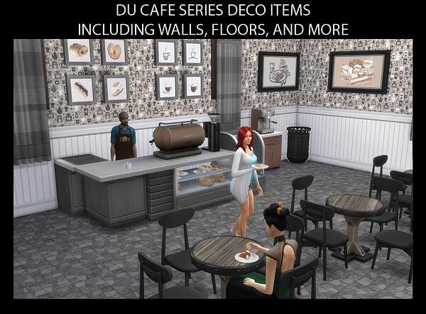 Du Cafe Series Cafe Style Decor sims 4 cc