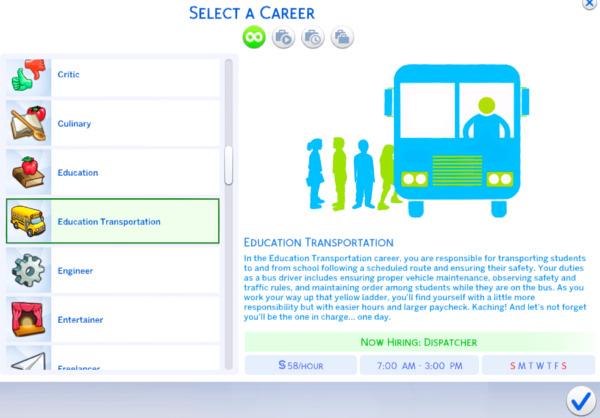 Education Transportation Career