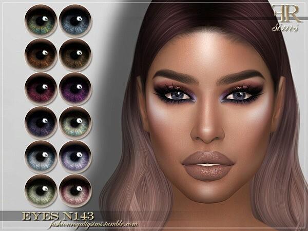 Eyes N143 by FashionRoyaltySims from TSR