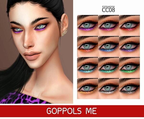 Eyeshadow CC 08 from GOPPOLS Me