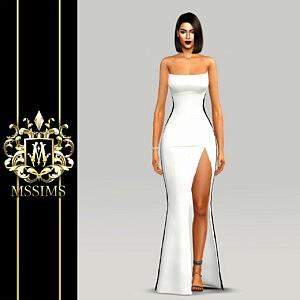 Fame Poeme Dress sims 4 cc