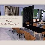 Florida Dining Set sims 4 cc