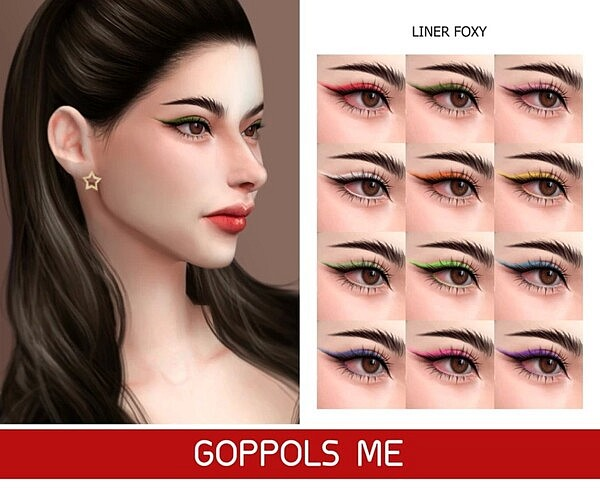 Foxy Liner sims 4 cc