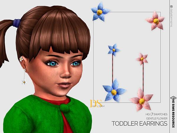 Gentle Flower Earrings Toddler