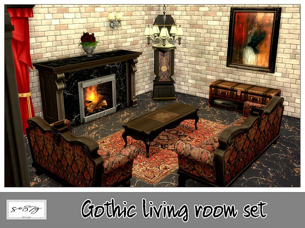 Gothic Living room recolor