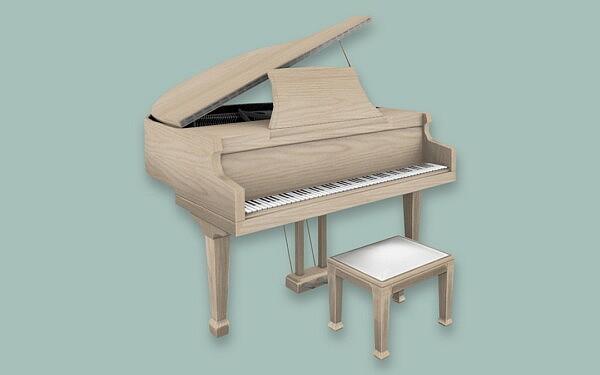 Grand Pianos sims 4 cc