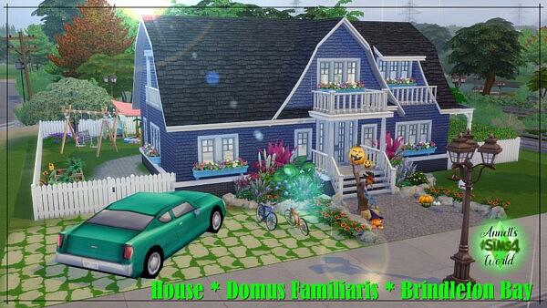 House Domus Familiaris Brindleton Bay sims 4 cc