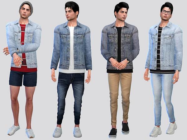 Jaxon Denim Shirt Jacket