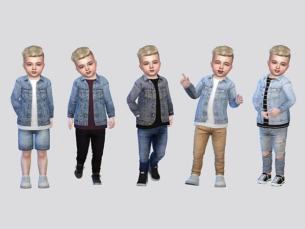 Jaxon Denim Shirt Jacket Toddler
