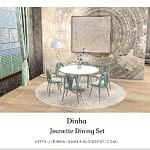Jeanette Dining Set