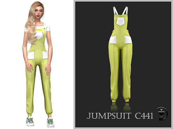 Jumpsuit C441 by turksimmer from TSR