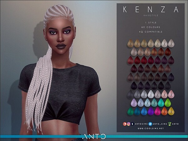 Kenza Hair by Anto from TSR