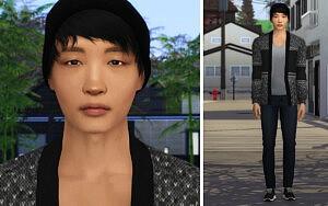 Kim Bong Do sims 4 cc