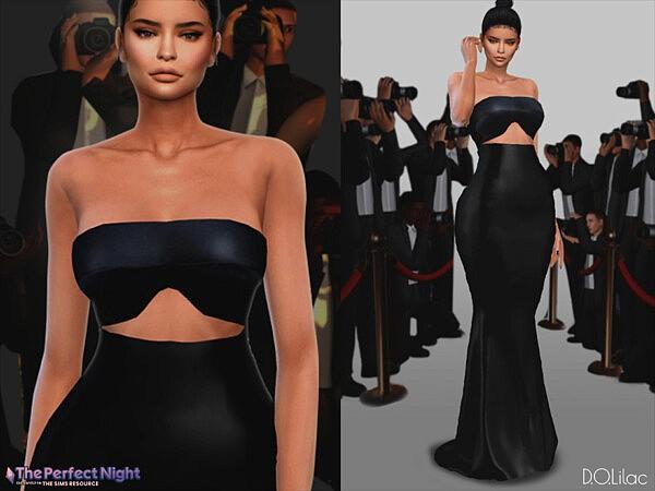 Kylie Jenner Dress DO133