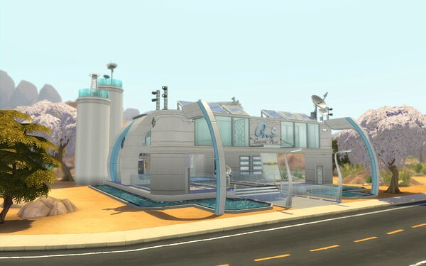 Laboratory of Doctor Lafolie sims 4 cc