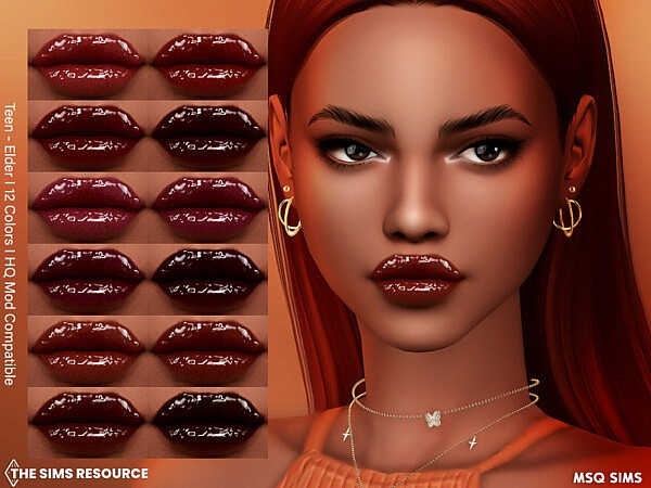 Lipstick NB58 by MSQSIMS from TSR