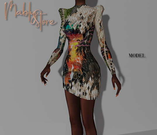 Model Cocktail Dress from Mably Store