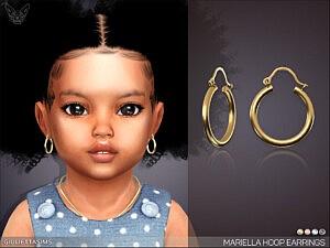 Mariella Hoop Earrings For Toddlers