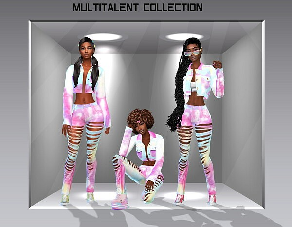 Multitalent Collection sims 4 cc