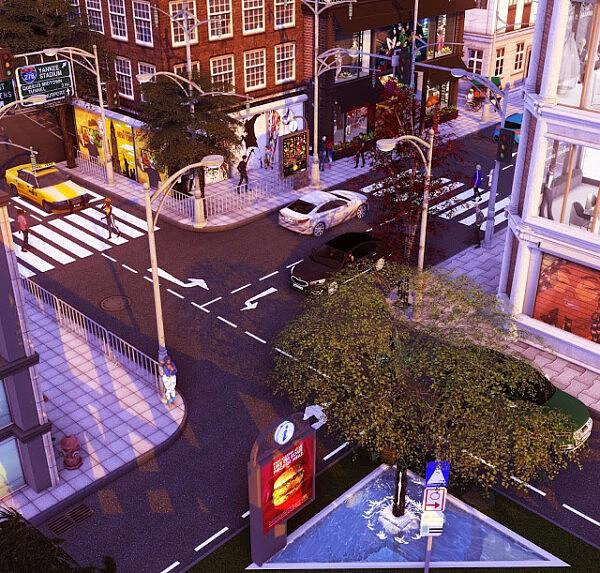 N.Y.C Manhattan One sims 4 cc