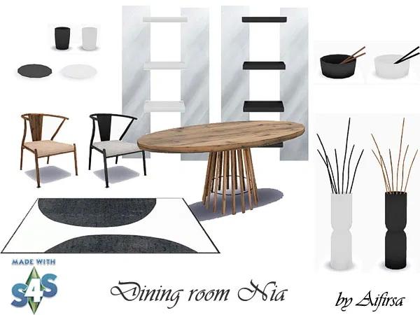 Nia diningroom from Aifirsa Sims