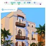 Oasis Riad sims 4 cc