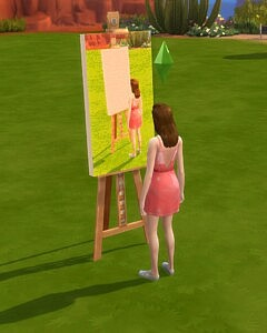 Paint from free reference sims 4 cc