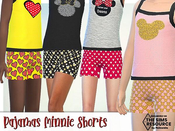 Pajamas Minnie Shorts