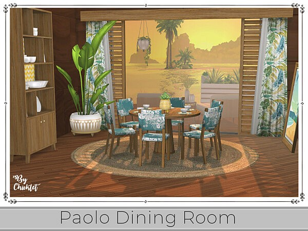 Paolo Dining Room