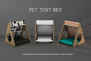 Pe tent bed