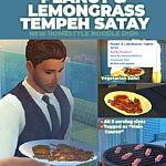 Peanut and Lemongrass Satay Skewers New Custom Recipe