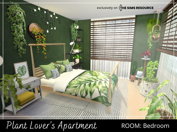Plant Lovers Apartment Bedroom