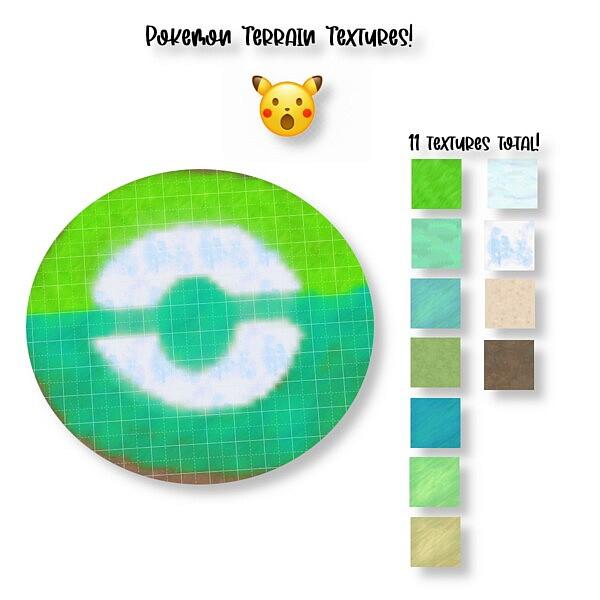 Pokemon Terrain Paints