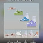 Pretzel Shoes Set