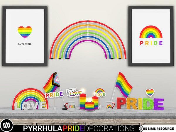 Pyrrhula Pride Decorations