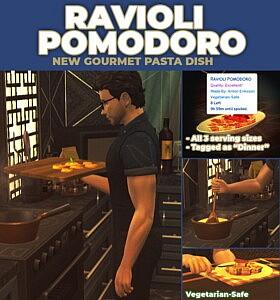 Ravioli Pomodoro New Custom Recipe
