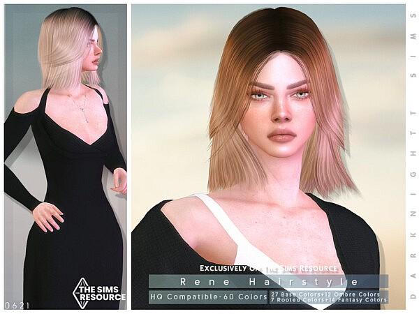 Rene Hairstyle by DarkNighTt from TSR