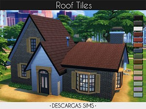 Roof Tiles sims 4 cc