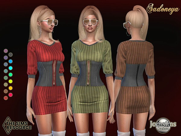 Sadoneya dress