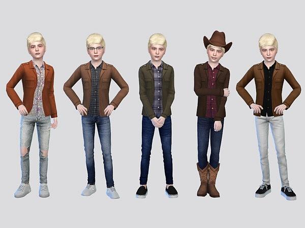 Santiago Shirt Jacket Boys