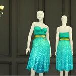Seashell Wavvve II Twingling Dress