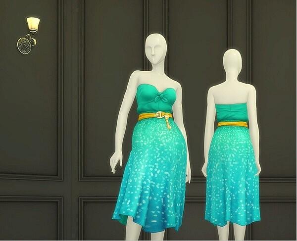 Seashell Wavvve II Twingling Dress from Rusty Nail