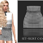 Set Skirt C434